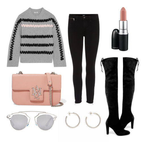 WDWW-2017-01-17-GREY-JUMPER-OVER-KNEE-BOOTS-PINK-BLACK-OUTFIT