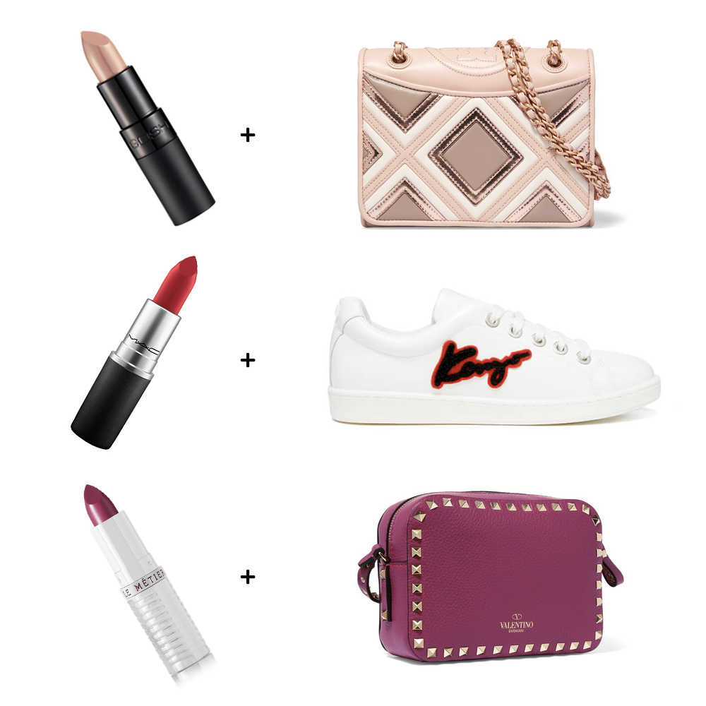 wdww-2017-matching-lipsticks-and-accessories-bags-shoes